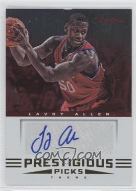 2012-13 Prestige Prestigious Picks Signatures #42 - Lavoy Allen