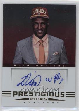 2012-13 Prestige Prestigious Picks Signatures #48 - Dion Waiters