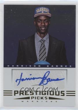 2012-13 Prestige Prestigious Picks Signatures #51 - Harrison Barnes