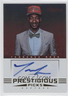 2012-13 Prestige Prestigious Picks Signatures #52 - Terrence Ross