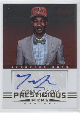 2012-13 Prestige Prestigious Picks Signatures #52 - Terrence Ross