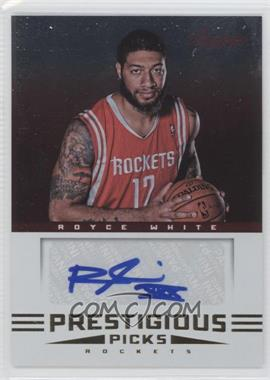 2012-13 Prestige Prestigious Picks Signatures #60 - Royce White