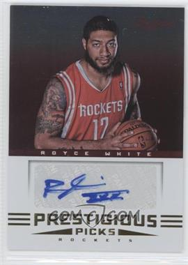 2012-13 Prestige Prestigious Picks Signatures #60 - Royce White