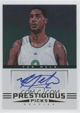 2012-13 Prestige Prestigious Picks Signatures #66 - Fab Melo