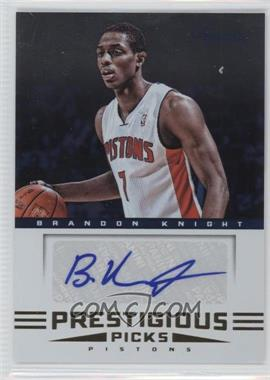 2012-13 Prestige Prestigious Picks Signatures #7 - Brandon Knight