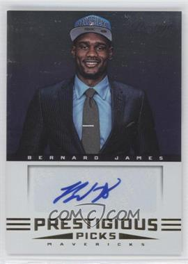 2012-13 Prestige Prestigious Picks Signatures #75 - Bernard James