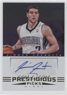 2012-13 Prestige Prestigious Picks Signatures #9 - Jimmer Fredette