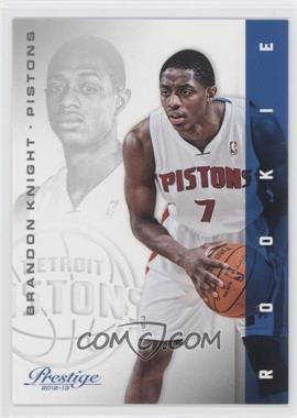2012-13 Prestige #153 - Brandon Knight