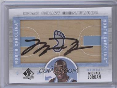2012-13 SP Authentic Home Court Signatures Autographs #HC-MI - Michael Jordan