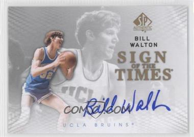 2012-13 SP Authentic Sign of the Times #S-BW - Bill Walton