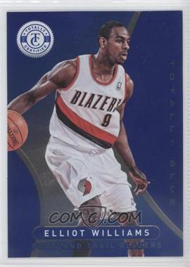 2012-13 Totally Certified - [Base] - Totally Blue #247 - Elliot Williams /299