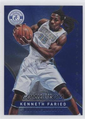 2012-13 Totally Certified - [Base] - Totally Blue #6 - Kenneth Faried /299