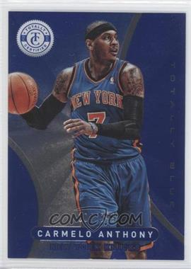 2012-13 Totally Certified - [Base] - Totally Blue #7 - Carmelo Anthony /299