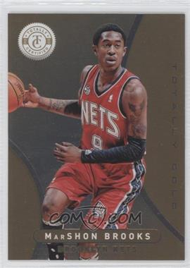 2012-13 Totally Certified - [Base] - Totally Gold #214 - MarShon Brooks /25