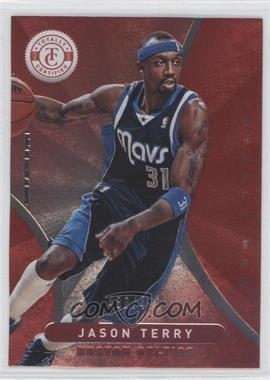 2012-13 Totally Certified - [Base] - Totally Red #186 - Jason Terry /499