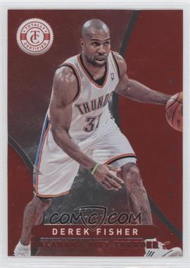 2012-13 Totally Certified - [Base] - Totally Red #267 - Derek Fisher /499