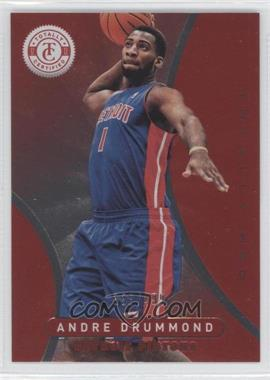 2012-13 Totally Certified - [Base] - Totally Red #86 - Andre Drummond /499