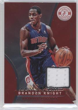 2012-13 Totally Certified - Memorabilia - Totally Red #192 - Brandon Knight