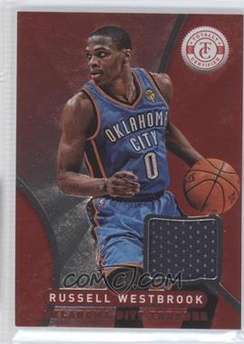 2012-13 Totally Certified - Memorabilia - Totally Red #80 - Russell Westbrook