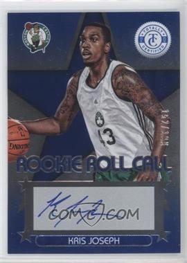2012-13 Totally Certified - Rookie Roll Call - Blue [Autographed] #97 - Kris Joseph /199