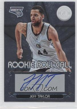 2012-13 Totally Certified - Rookie Roll Call - Silver [Autographed] #64 - Jeff Taylor