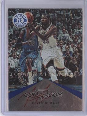 2012-13 Totally Certified - Signatures - Totally Blue #6 - Kevin Durant /15