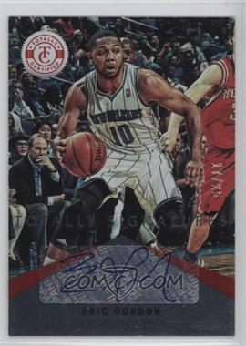 2012-13 Totally Certified - Signatures - Totally Red #4 - Eric Gordon /25