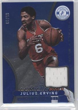 2012-13 Totally Certified Memorabilia Totally Blue #71 - Julius Erving /99