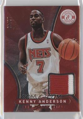2012-13 Totally Certified Memorabilia Totally Red Prime #94 - Kenny Anderson /49