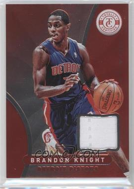 2012-13 Totally Certified Memorabilia Totally Red #192 - Brandon Knight