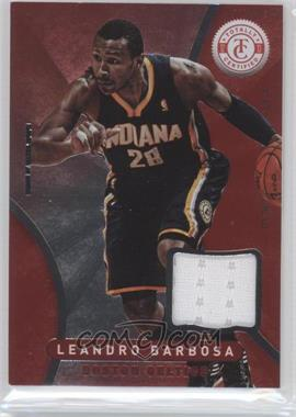 2012-13 Totally Certified Memorabilia Totally Red #35 - Leandro Barbosa