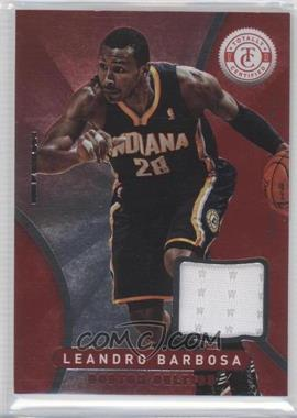 2012-13 Totally Certified Memorabilia Totally Red #35 - Leandro Barbosa