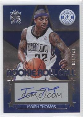 2012-13 Totally Certified Rookie Roll Call Blue [Autographed] #10 - Isaiah Thomas /129