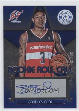 2012-13 Totally Certified Rookie Roll Call Blue [Autographed] #15 - Bradley Beal /49