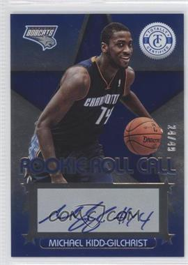 2012-13 Totally Certified Rookie Roll Call Blue [Autographed] #4 - Michael Kidd-Gilchrist /49