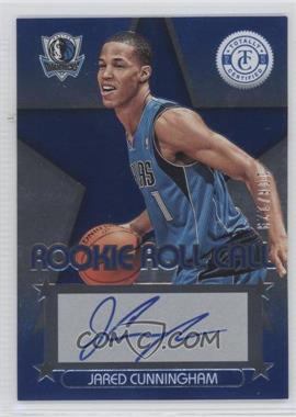 2012-13 Totally Certified Rookie Roll Call Blue [Autographed] #55 - Jared Cunningham /129