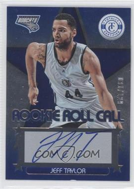 2012-13 Totally Certified Rookie Roll Call Blue [Autographed] #64 - Jeff Taylor /129