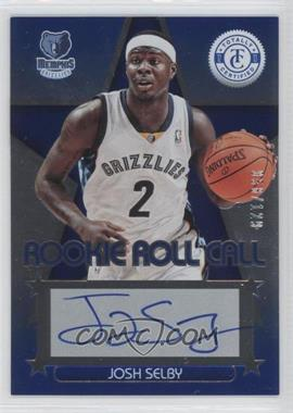 2012-13 Totally Certified Rookie Roll Call Blue [Autographed] #74 - Josh Selby /129