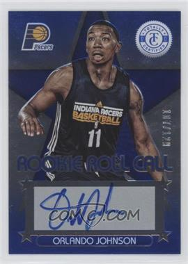 2012-13 Totally Certified Rookie Roll Call Blue [Autographed] #79 - Orlando Johnson /129