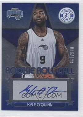 2012-13 Totally Certified Rookie Roll Call Blue [Autographed] #95 - Kyle O'Quinn /199
