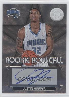 2012-13 Totally Certified Rookie Roll Call Silver [Autographed] #100 - Justin Harper
