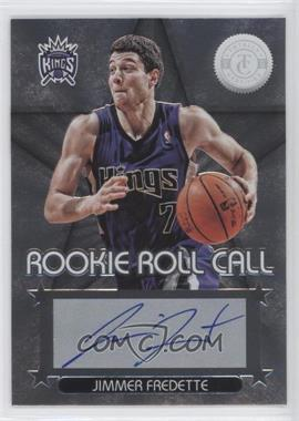 2012-13 Totally Certified Rookie Roll Call Silver [Autographed] #18 - Jimmer Fredette
