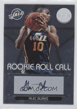 2012-13 Totally Certified Rookie Roll Call Silver [Autographed] #29 - Alec Burks