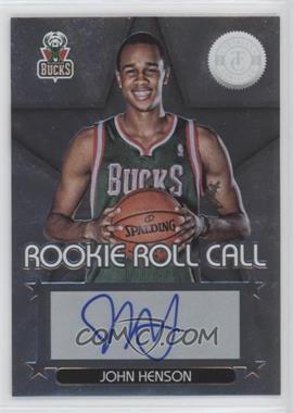 2012-13 Totally Certified Rookie Roll Call Silver [Autographed] #32 - John Henson