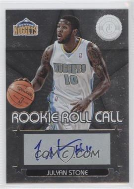 2012-13 Totally Certified Rookie Roll Call Silver [Autographed] #47 - Julyan Stone