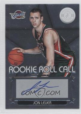 2012-13 Totally Certified Rookie Roll Call Silver [Autographed] #49 - Jon Leuer