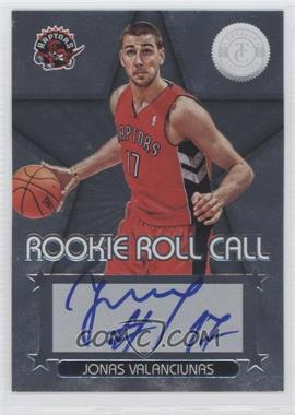 2012-13 Totally Certified Rookie Roll Call Silver [Autographed] #67 - Jonas Valanciunas
