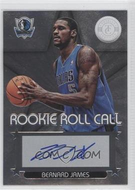 2012-13 Totally Certified Rookie Roll Call Silver [Autographed] #68 - Bernard James