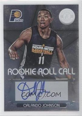 2012-13 Totally Certified Rookie Roll Call Silver [Autographed] #79 - Orlando Johnson