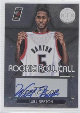 2012-13 Totally Certified Rookie Roll Call Silver [Autographed] #83 - Will Barton